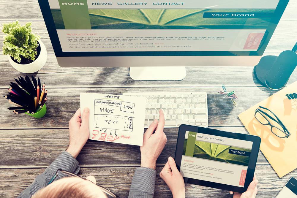 Consejos de diseño web para pequeñas empresas